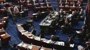 New video of U.S. Capitol riots shown at Trump's impeachment trial (03:07)