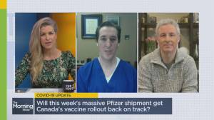 Is Canada getting record vaccine doses? Doctor answers the latest coronavirus questions (07:49)