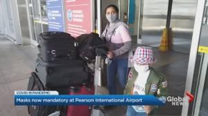 Coronavirus: Masks now mandatory at Toronto Pearson International Airport
