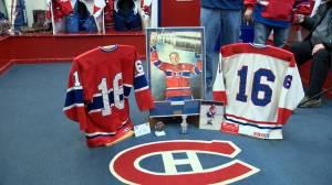 Saskatoon rec hockey team honours late Montreal Canadiens legend Henri Richard