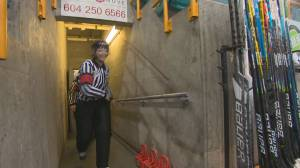 Making history: First all-female Junior A officiating crew (02:43)
