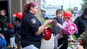 Montreal fire department hosts open house