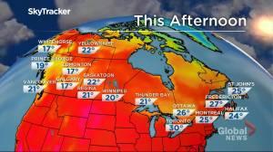 Winnipeg weather outlook: July 20 (01:36)