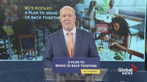 COVID-19: Premier John Horgan outlines B.C.'s plan to 'return to normal' (07:11)