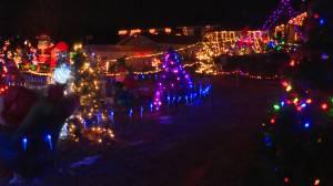 An Athens Christmas lights display raises money for local charity