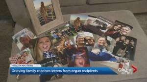 Family of B.C. crash victim who helped save 5 lives through organ donation gets letters from 2 recipients