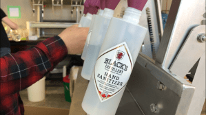 Black's Distillery giving back to the community by making hand sanitizers