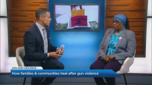 How communities heal after gun violence