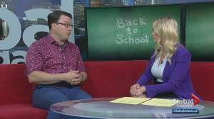 Back-to-school routine: Calgary psychologist discusses why it's so important