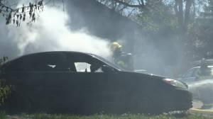 Lethbridge fire crews battle winds and flames (01:22)