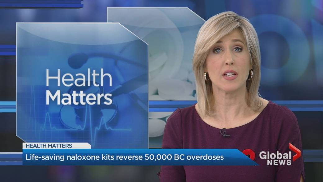 At-home naloxone kits have reversed over 50K opioid overdoses in B.C.: health authority