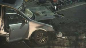 Drunk driving suspected in fatal North Vancouver crash (01:45)