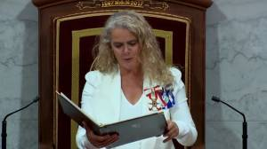 Throne speech: Payette touts coronavirus job creation, wage subsidy extension