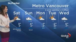 B.C. evening weather forecast: Jan 10