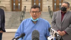 Saskatchewan NDP calls for residential schools compensation, apology from Scott Moe (01:25)