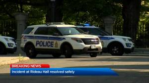 Rideau Hall incident comes to an end after 'armed man' accessed grounds: police