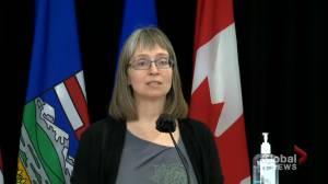 Alberta identifies 178 new COVID-19 cases on Thursday (02:09)