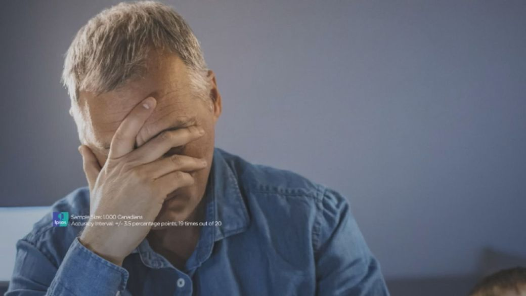 Click to play video 'Over half of Canadians feeling increased stress, anxiety due to COVID-19: Ipsos poll'