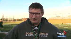 Alberta Golden Bears football team on a roll
