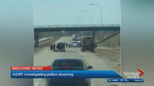 Shooting involving RCMP leads to closure of QEII south of Edmonton