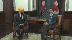 "Singh to Trudeau: Liberals should work with NDP to ""benefit all Canadians"""