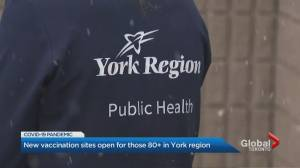 York Region COVID-19 vaccine clinics fully booked (02:29)