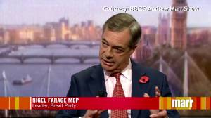 Brexit Party's Farage says he won't run in election, will campaign against EU withdrawal deal