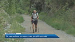 B.C. man raising awareness, funds for schizophrenia