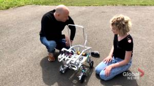 Moncton teen builds robot to help the visually impaired