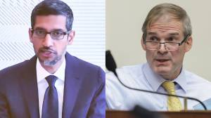 """""""Put your mask on"""": Debate over Google's neutrality leads to pointed exchange on Capitol Hill"""
