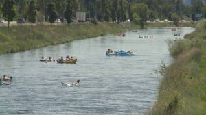 City of Penticton urges floaters to use caution on channel