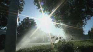 Extreme weather hits U.S., Canada: Elsa batters east coast as heat wave roasts west coast (01:49)
