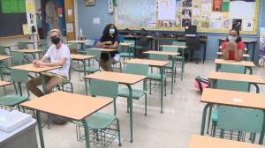 Schools in B.C. prepare to reopen their doors to in-class learning (04:15)