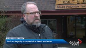 B.C. Senior allegedly assaulted during break and enter (02:04)