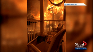5 people displaced after 2-alarm fire in southeast Calgary (01:21)