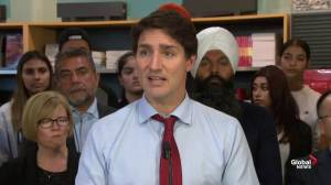 Federal Election 2019: Trudeau says they're focusing on stability in Syria region
