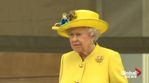 Queen Elizabeth II marks 95th birthday days after husband's funeral (01:22)