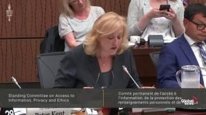 More information regarding SNC-Lavalin affair not public: MP Lisa Raitt (02:05)