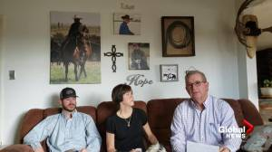 Family of missing cowboy in B.C. pleads for public help (02:26)