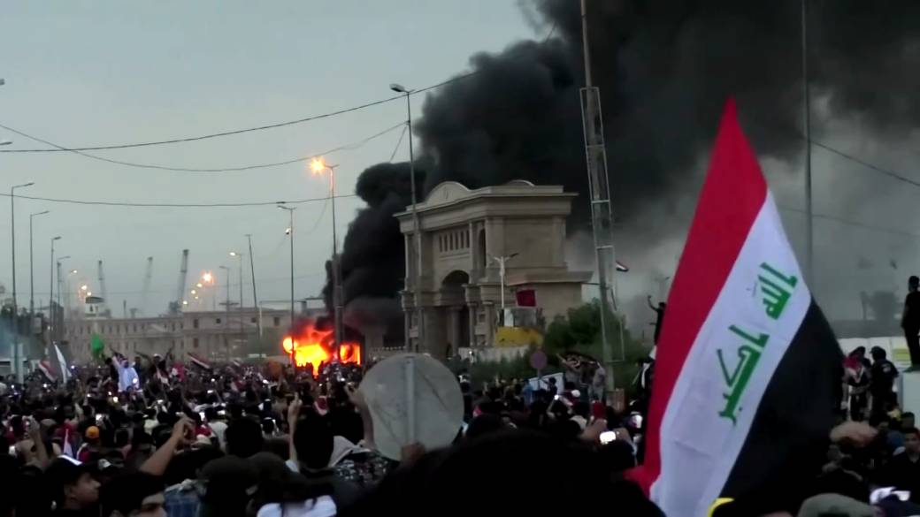 Image result for iraq anti government protest