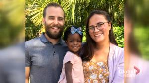 Calgary couple stuck in Barbados pleading with Canadian government to get their sick child home