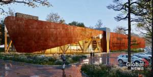 Canadian Canoe Museum in Peterborough unveils details on new museum (02:25)