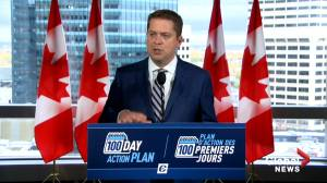 Federal Election 2019: Scheer says Trudeau is 'leaving door open' to possibly form coalition government with NDP