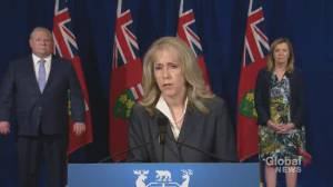 Coronavirus outbreak: Ontario's senior homes suffering from staffing crisis, minister says