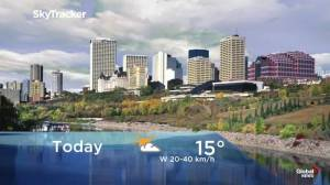 Early morning Edmonton weather forecast: Oct. 17