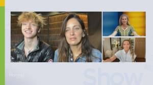 Chantal Kreviazuk & son Rowan join forces with 'Sing' app for next gen musicians (09:14)