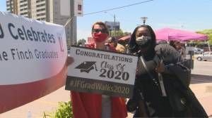 Toronto's Jane and Finch community comes together to celebrate 2020 graduates