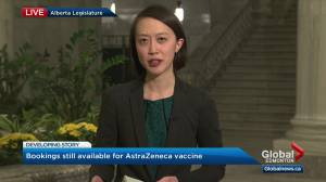 AstraZeneca COVID-19 vaccine doses still available (04:12)