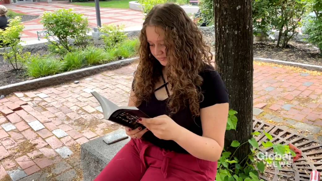 Click to play video: 'Moncton teen uses social media to encourage more youth to read Atlantic Canadian books'