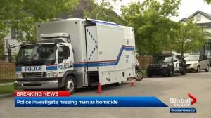 Calgary police believe missing man is victim of homicide